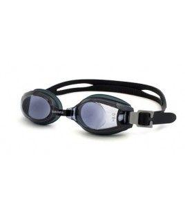 Gafas de Natación graduadas Junior Miopía Aquavista Guppy Negro