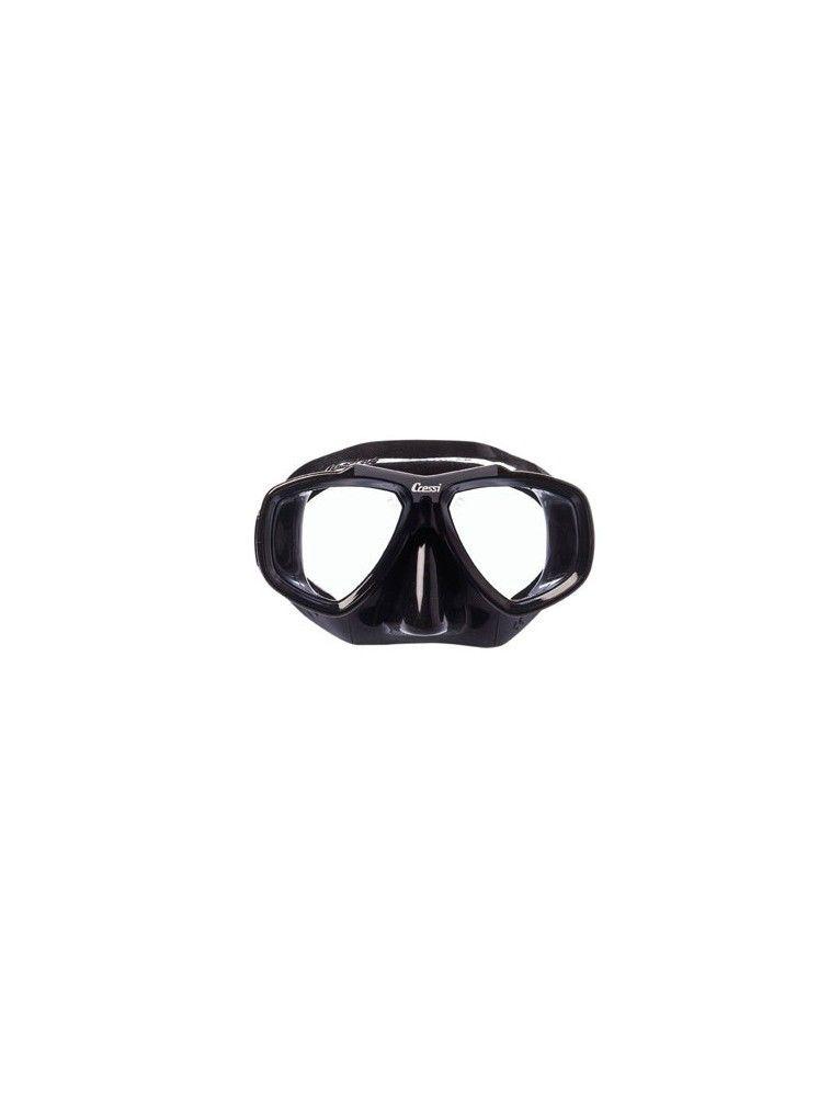 Máscara de buceo Cressi-Sub Focus Negra VS1060