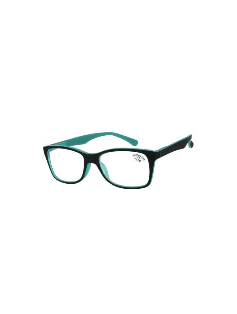 Gafas de Lectura Premontadas L94-C Negro/Verde Esmeralda