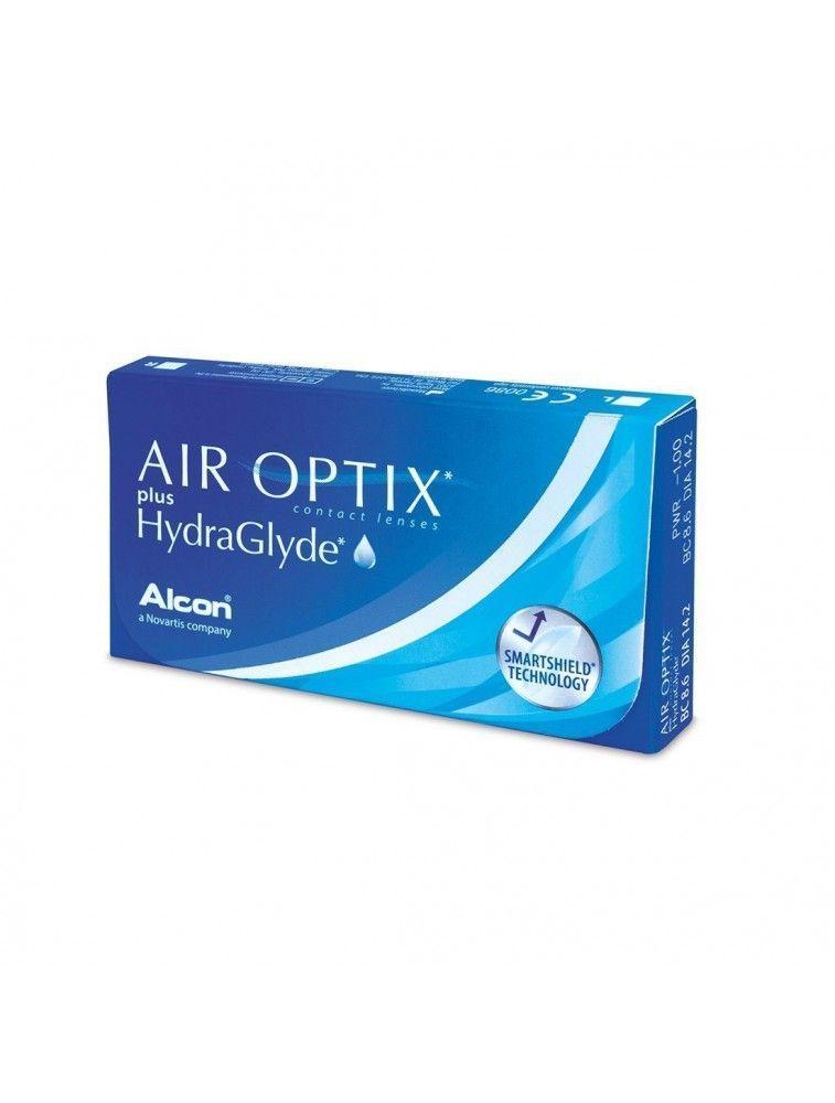 Lentes de Contacto Air Optix HydraGlyde 6uds