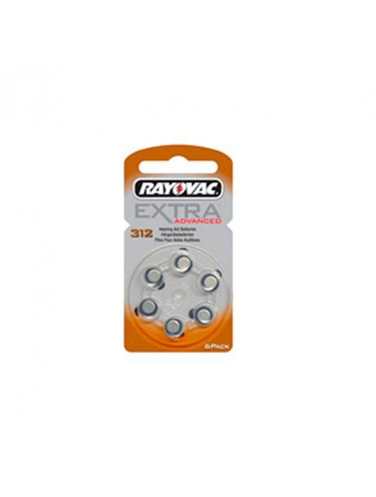 Pilas para audífonos Rayovac 312