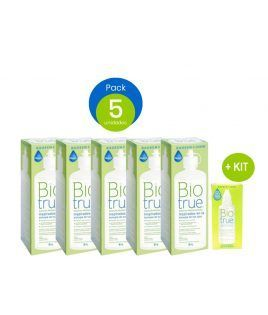 Pack 5 uds Biotrue 300 ml +...