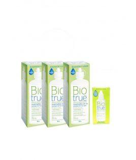 Pack 3 uds Biotrue 300 ml +...