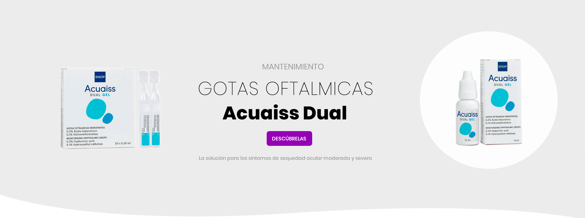 Gotas Oftalmicas  Acuaiss Dual Gel